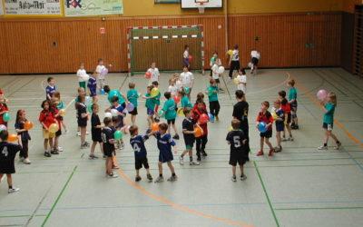 Mini-Spielfest im Sportzentrum Nord