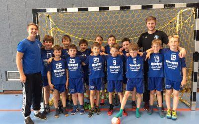 Männliche D-Jugend qualifiziert sich für die zweitbeste Kreisliga