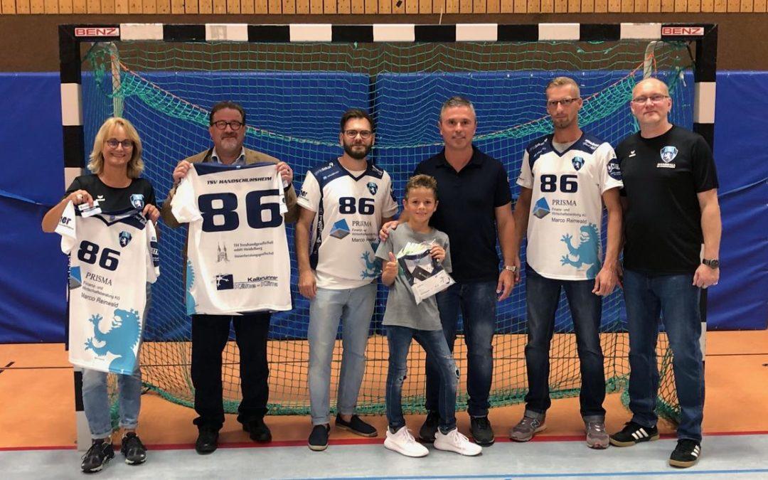 Neue Trikots für beide Handballabteilungen!!!