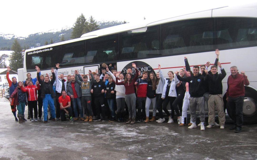 TSV-Handballfamiliebeim Skiwochenende