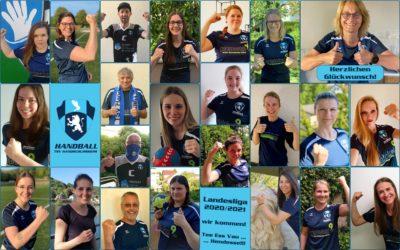1. Frauen  – Landesliga wir kommen!!!!