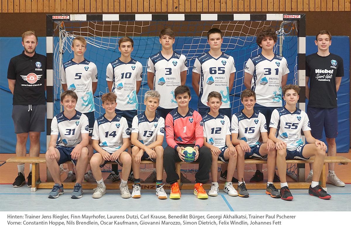 Männliche Jugend B, Saison 2017/2018 (Landesliga)